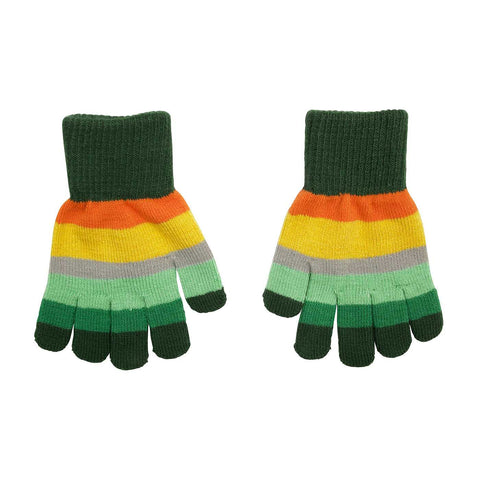 Villervalla - Gloves Europe (Green striped)