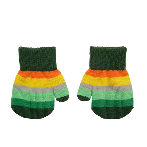 Villervalla - Mitten Gloves Europe (Green Striped)