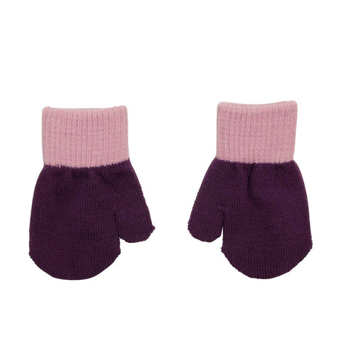 Villervalla - Mitten Gloves Grape (Purple) 1-3 jr