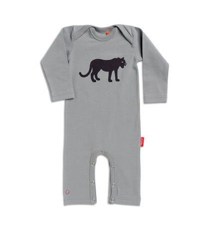 Tapete Jumpsuit Black Panther - Lekker warm pak met zwarte panter