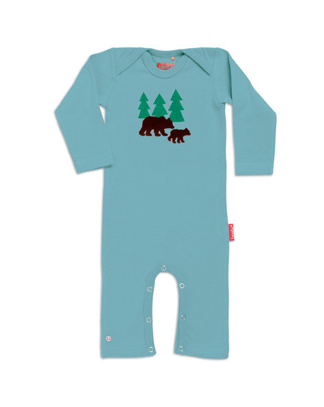 Tapete Jumpsuit Sweat Wild Life - Lekker warm pak met beren in bos