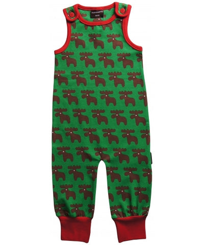 Maxomorra Playsuit Moose - Eland