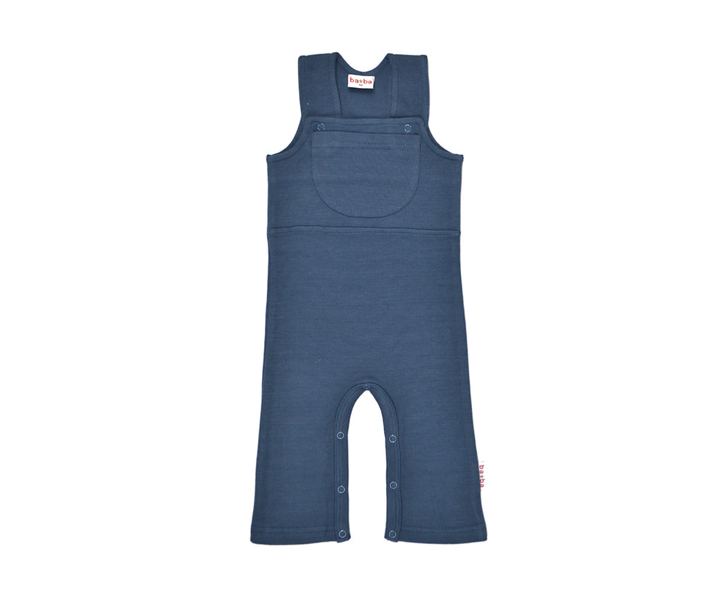 Baba Babywear Workers V-Knitted Dark Blue