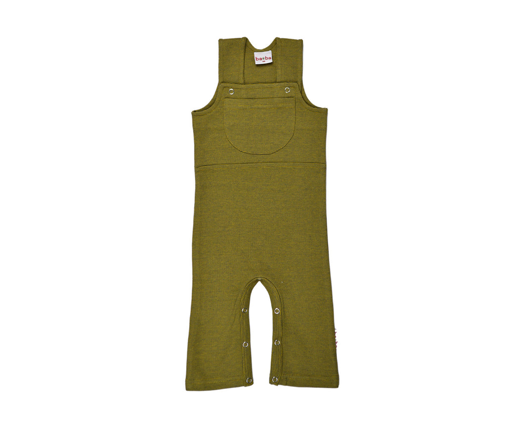 Baba Babywear Workers V-Knitted Yellow