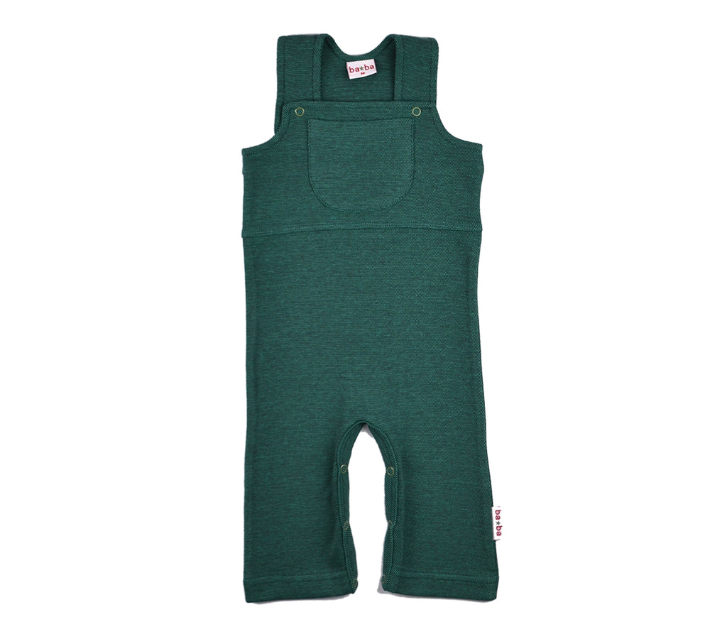 Baba Babywear - Worker Pique Bicolor Green