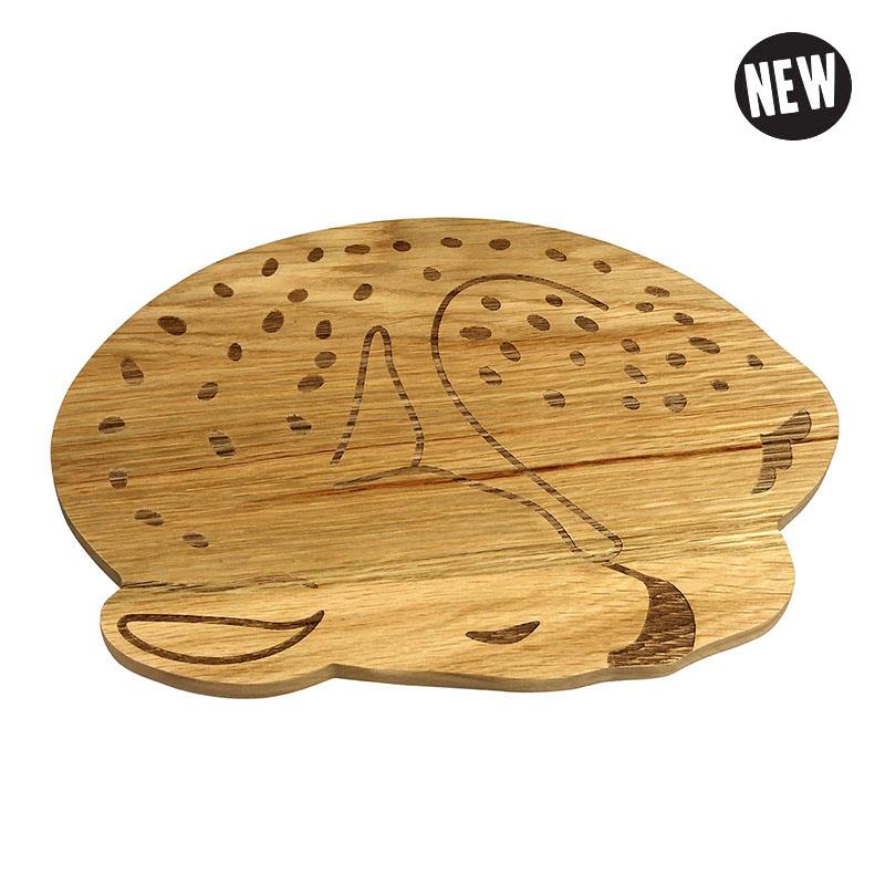 Broodplankje Hert - Wooden Plate Deer