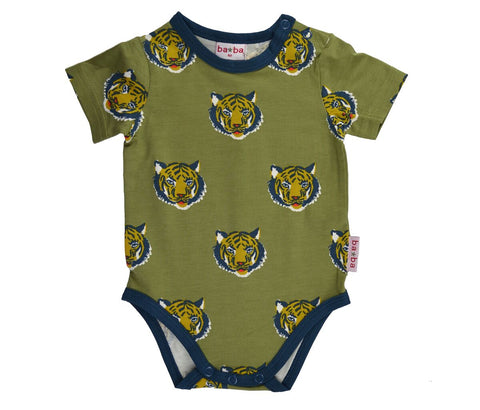 Baba Babywear - Short Sleeve Body Tiger
