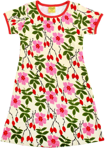 Duns Sweden ADULT - Shortsleeve Dress Rosehip