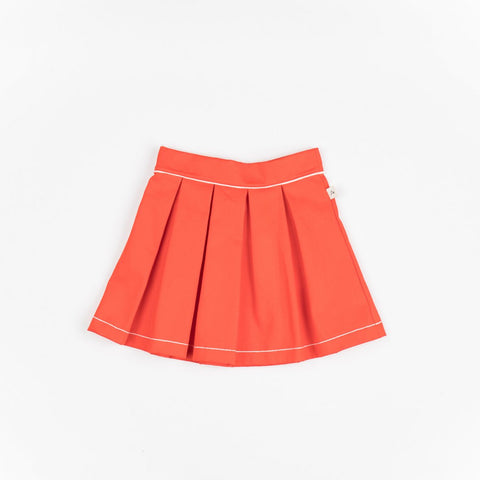 AlbaBaby - Nelly Skirt Fiesta Orange/Red
