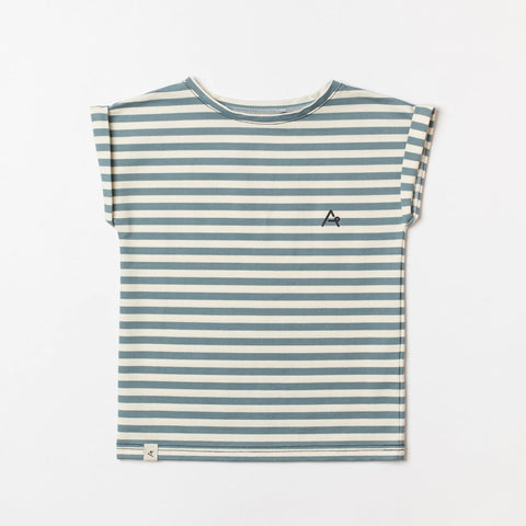 AlbaBaby Martin T-Shirt Striped Bluestone Klassiek Gestreept