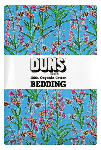 Duns Sweden Bedding Dill Willowherb Blue - Dekbedovertrek Wilgenroosje Blauw