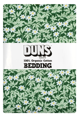 Duns Sweden Bedding Wood Anemone Green - Dekbedovertrek Bosanemoon Groen
