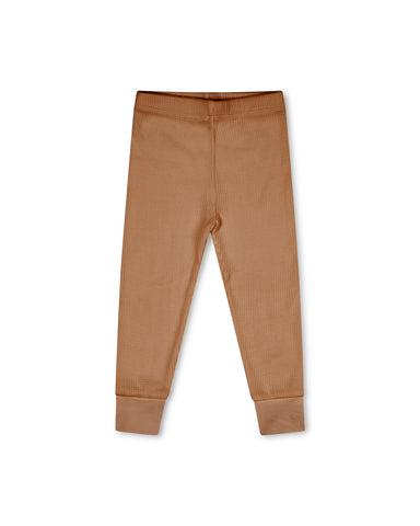 Matona Basic Pants Terracotta - Broekje/Legging