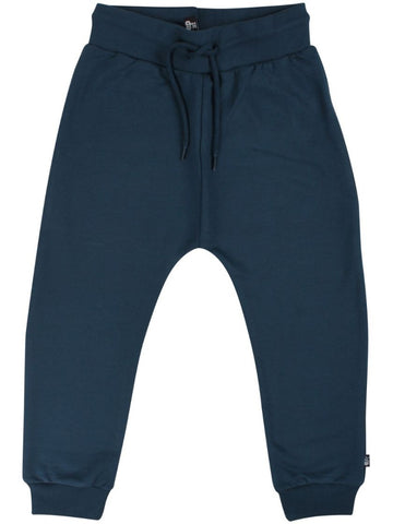 Danefae Bronze Pants Jr Dusty Navy - Joggingbroek Basic Donkerblauw