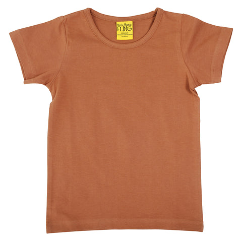More Than A Fling T Shirt Chipmunk Brown - Licht Bruin
