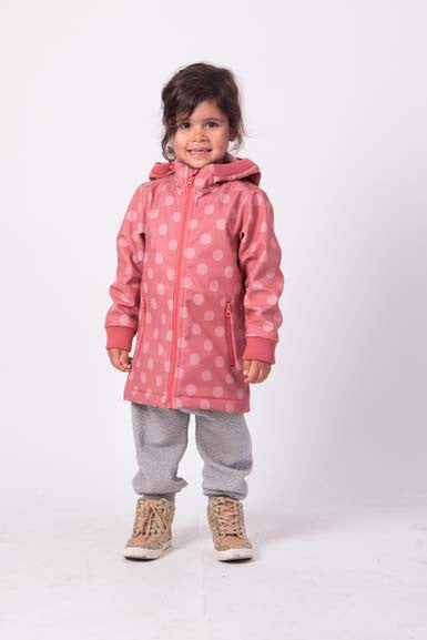 Danefae Softshell Olivia Blush Dots