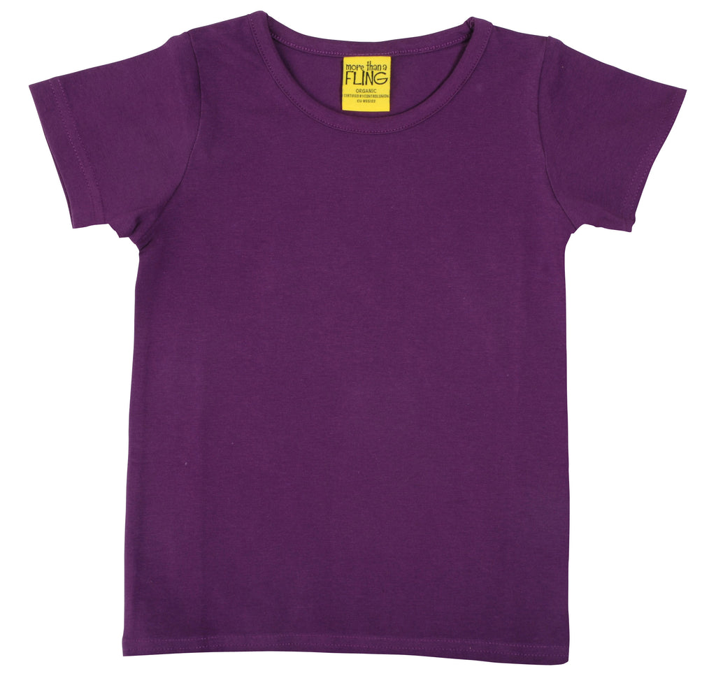 More Than A Fling T-Shirt Dark Purple