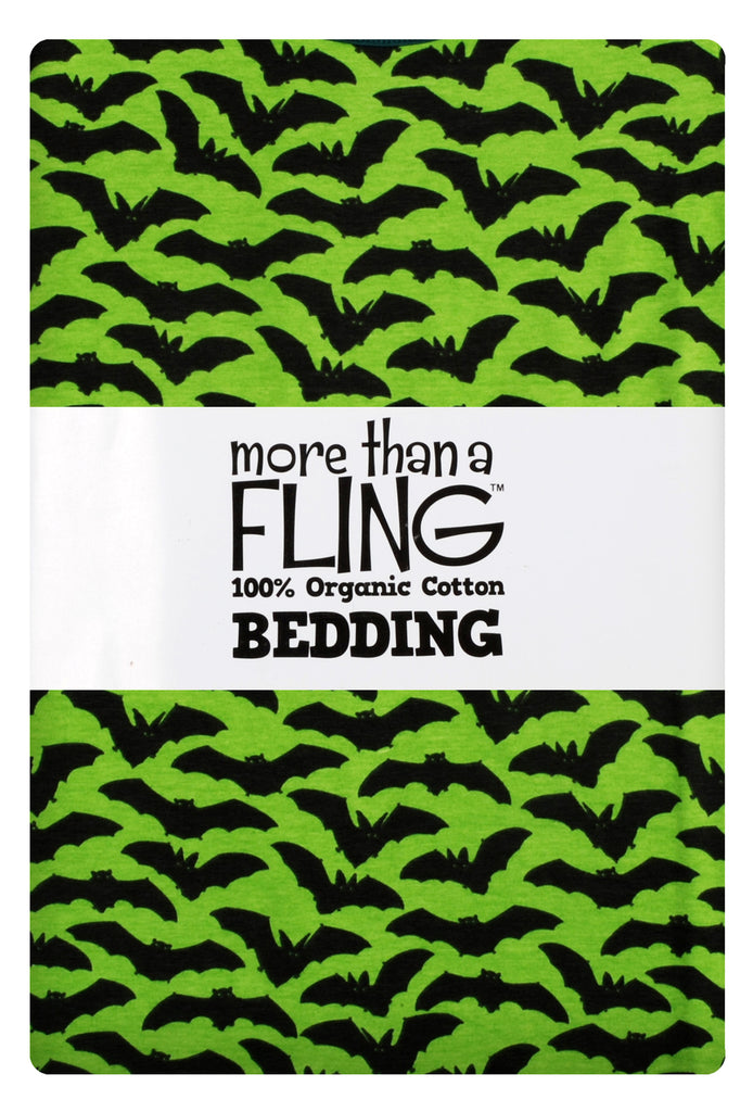 Duns Sweden - Bedding 1 pers. Bats Green