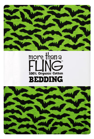 Duns Bedding 1 pers. Bats Green