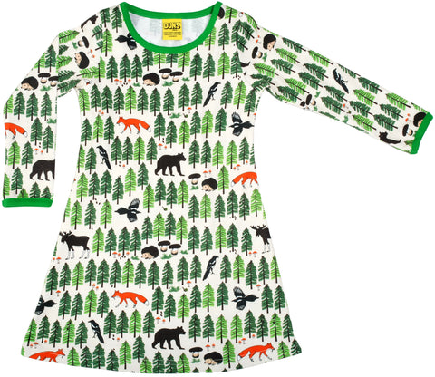 Duns Sweden Longsleeve Dress Forrest Life