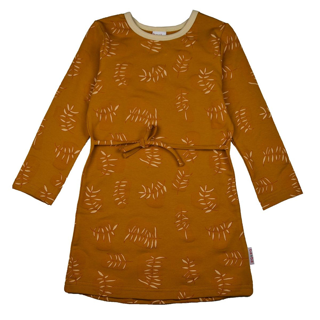 Baba Babywear - Longsleeve Dress Leaves