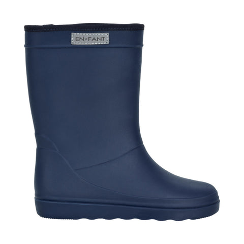 Enfant Rubber Rain Boot Blue Night - En fant Regenlaarzen Donkerblauw