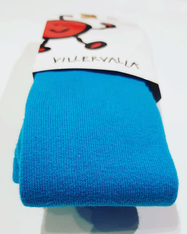 Villervalla - Tights Dark Aqua