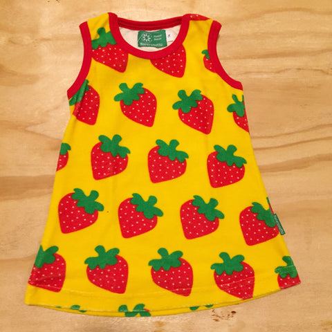 Naperonuttu - Dress Strawberry Jurkje Aardbei