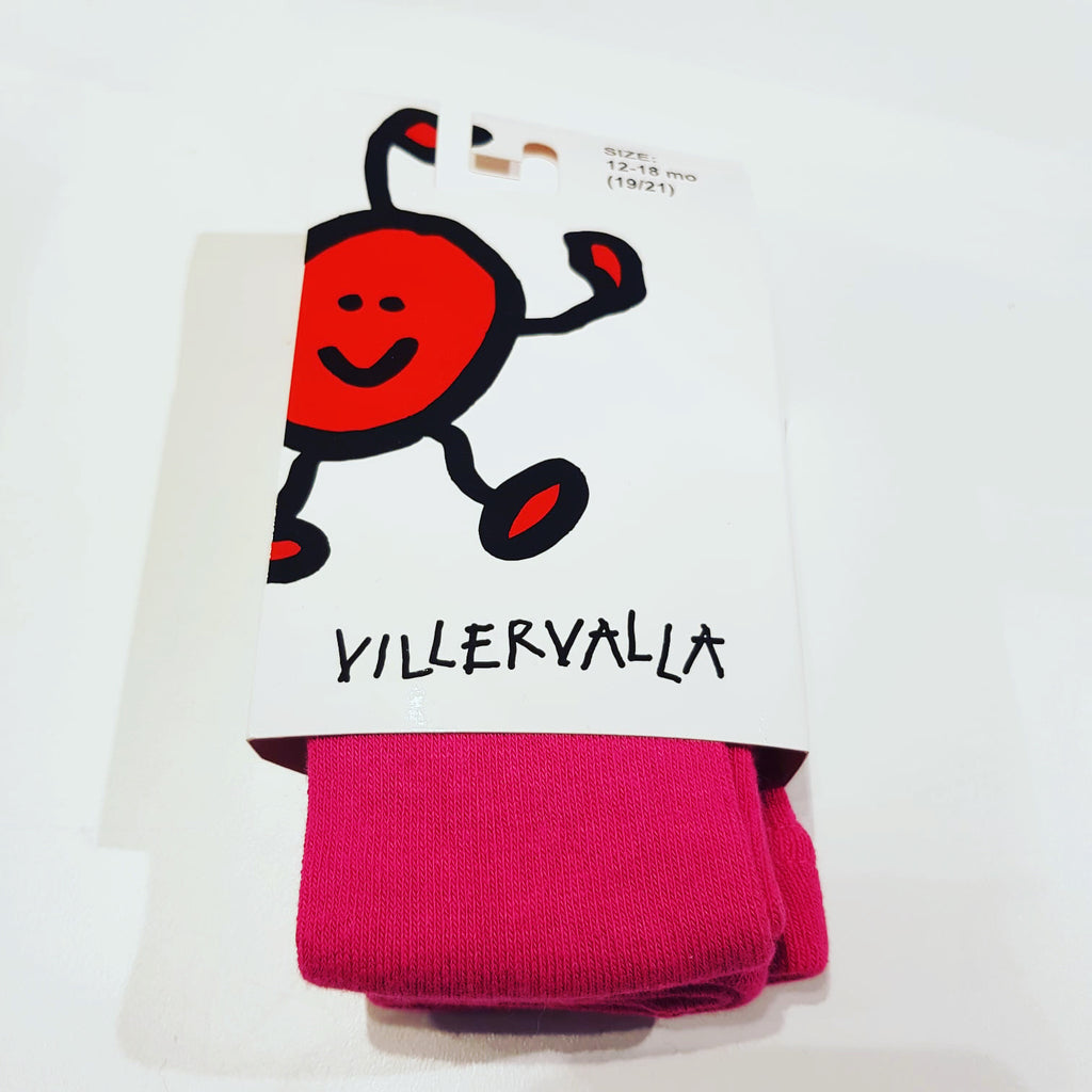 Villervalla - Tights Cranberry