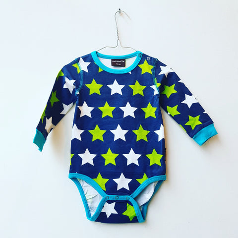 Maxomorra Body LS Stars Navy