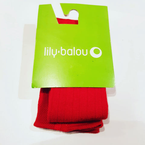 Lily-Balou - Tights Red