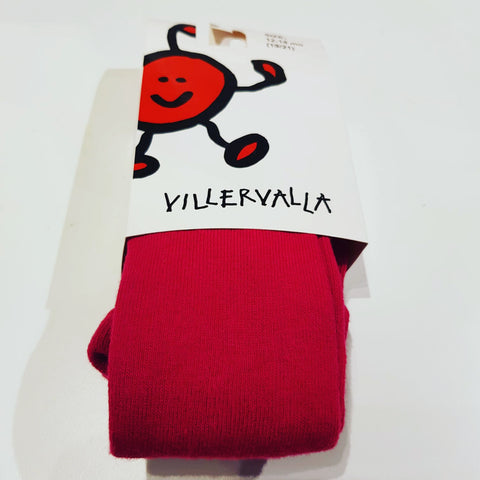 Villervalla - Tights Dark Cranberry