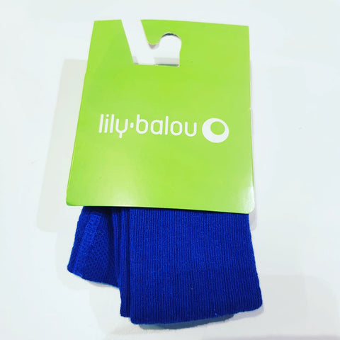 Lily-Balou - Tights Cobalt Blue