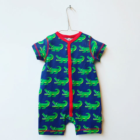 Maxomorra Summersuit Crocodile