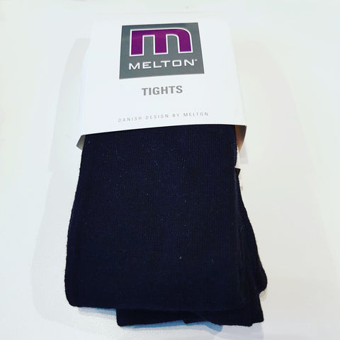 Melton - Tights Plain Black