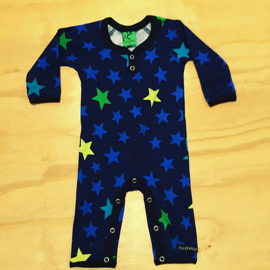 Villervalla - Jumpsuit Star Navy