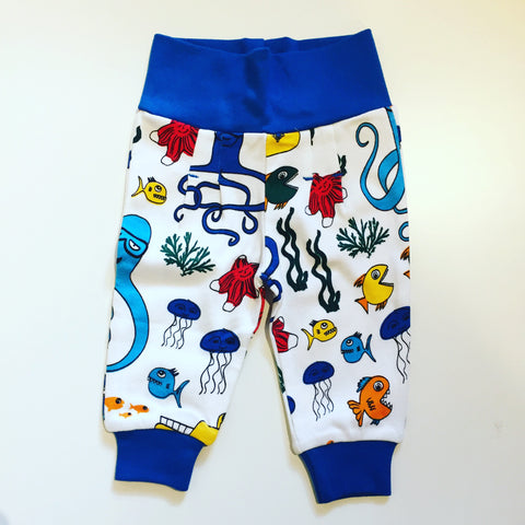 Duns Sweden Babypants Yellow Submarines - Broekje Onder de Zee
