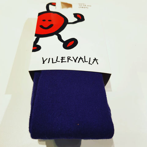 Villervalla - Tights Dark Mulberry