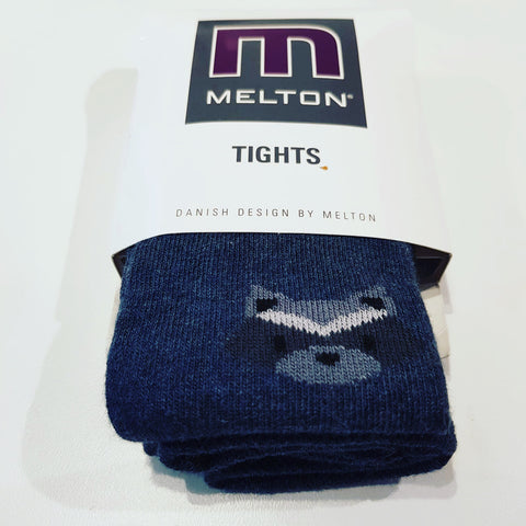 Melton - Tights Grey Raccoon