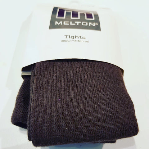 Melton - Tights Plain Bruin