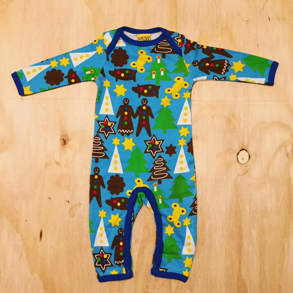 Duns Sweden Jumpsuit Christmas Blue - Jumpsuit Kerst