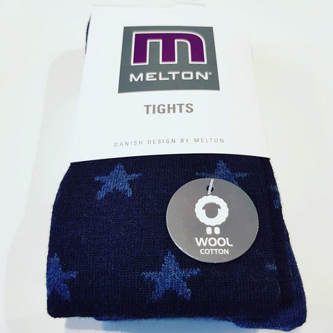 Melton - Tights Wool Stars