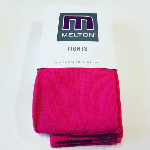 Melton - Tights Plain Cherise