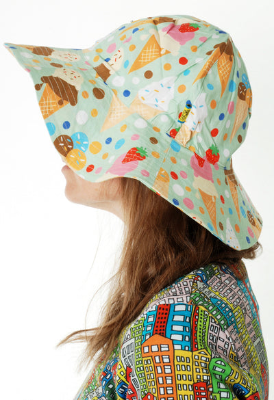 Duns Sweden - Sunhat Icecream Green