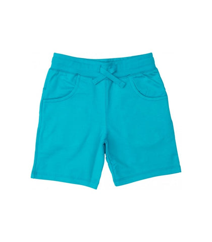Maxomorra Shorts Pocket Turquoise