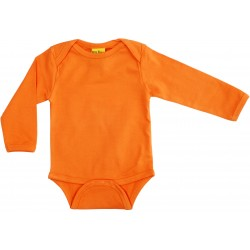More Than A Fling Body Orange - Oranje Romper Lange Mouw