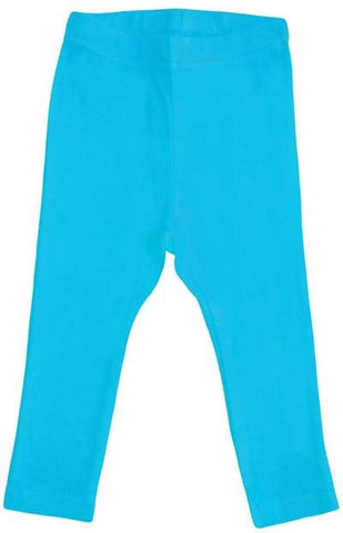 More Than A Fling Leggings Turquoise - Carribean Blue