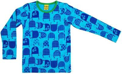More Than A Fling Longsleeve Turtle Blue Schildpad Blauw