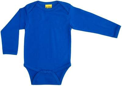 More Than A Fling Body Blue Blauwe Romper Lange Mouw