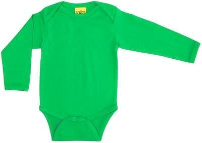 More Than A Fling Body Gras Green - Gras Groene Romper Lange Mouw